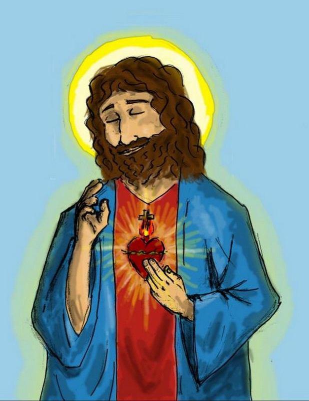 Hermosa Imágenes De Jesús A Color Fotos - Dibujos Para Colorear En ...